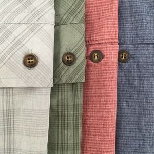 Lot of 4 Gerry Men's Button Shirts Size: Large